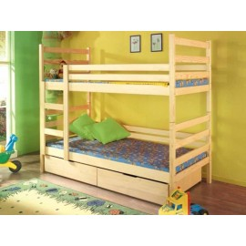 Ліжко двоярусне Шрек 80х200