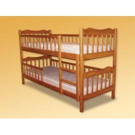 Ліжко двоярусне Рукавичка 80х190