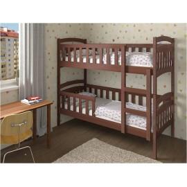 Ліжко двоярусне Білосніжка 80х190