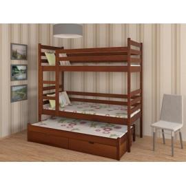 Ліжко Трьохярусне Шрек 80х190(180)