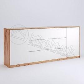 Вітальня АСТІ Комод 2 Дв. 3 Шх. 2,0