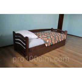 Ліжко однопальне з підйомним механізмом КОЛОБОК 80х200