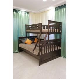 Ліжко Русалонька 90х120х190(200)