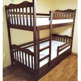 Ліжко двоярусне Мауглі 90х190