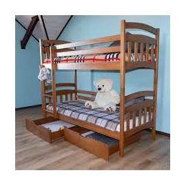 Ліжко двоярусне Бембі 90х190